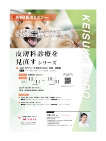 日本獣医皮膚科学会認定医 獣医師・工藤圭介先生に学ぶ 皮膚科診療を見直すシリーズ